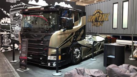 Scania Chimera 引擎声