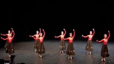 维族舞蹈《花儿这样红》(配音版)