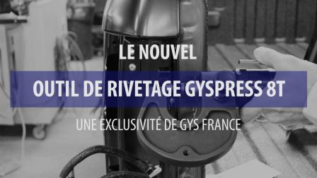 QUTIL DE REVETAGE GYSPRESS 8T(GYS 吉欧斯 FR)
