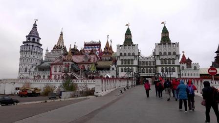 【俄罗斯游记11】一只蚂蚁跳蚤市场 (伊兹玛依络沃工艺品市场)莫斯科之旅