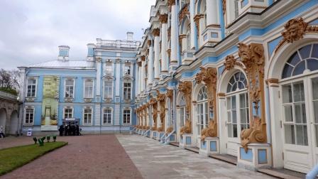 【俄罗斯游记2】叶卡捷琳娜宫殿(又称沙皇村 世界遗产名录)圣比德堡之旅