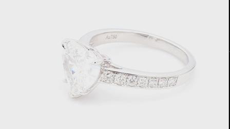#JCRW05430670# 2.00克拉 白钻戒指 -阿斯特瑞雅Asteria