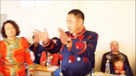 通辽市科左后旗海鲁吐镇巴雅斯古楞中心学校《加强家校合作 促进学生成长》主题班会