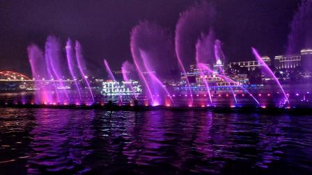 [VLOG]柳州柳江大型音乐喷泉表演
