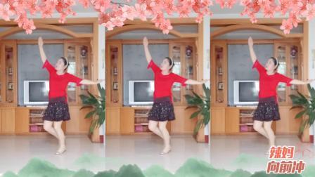 彩虹丹广场舞 天上的纳木错 柔美藏舞3人版