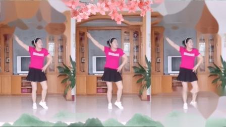 彩虹丹广场舞 都说 流行动感步子舞3人版