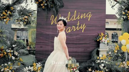 DAVID STUDIO 单机作品 2019.4.30 JIN&ZHOU WEDDING FILM
