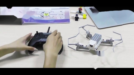 LiteBee wing编程积木无人机对频教学