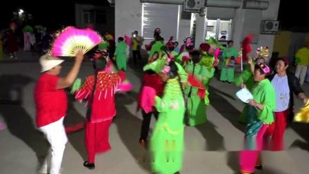 新集镇东佃村 迎七一大型文化活动