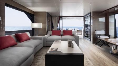 圣劳伦佐Sanlorenzo Yacht - SL96A 不对称游艇.mp4