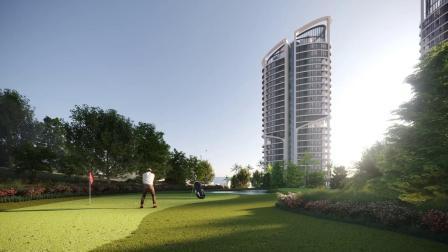 超5星酒店公寓,海滨前沿项目。