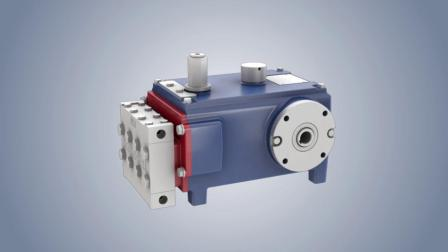 Hydra-Cell® WANNER泵 MT8系列高压隔膜计量泵3D原理视频