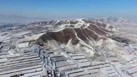 """陕西蒲城,不愧称为""""奉先"""",居然有两对父子大唐皇帝陵,景陵雪景壮观"""