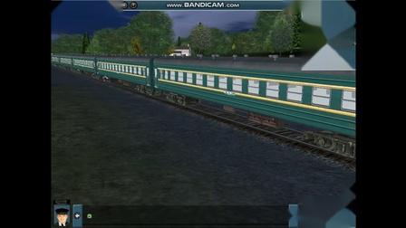 1966年峰福铁路脱轨事故模拟