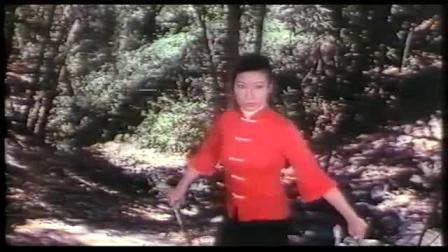 红衣功夫女反派被杀