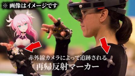 日本 ICHIKARA 虚拟偶像 Vicon Mocap