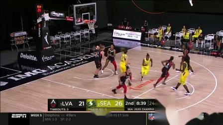 【WNBA】2020季后赛决赛G3 拉斯维加斯王牌vs西雅图风暴 10.6