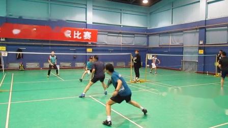 2020二重男双羽毛球决赛01