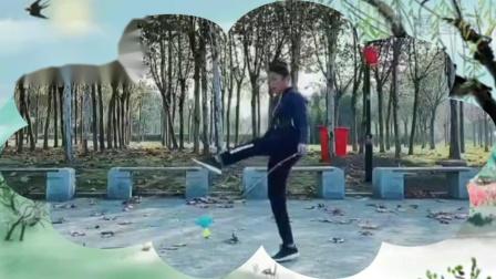 空竹新秀武穴张雯金蛇狂舞精彩展演