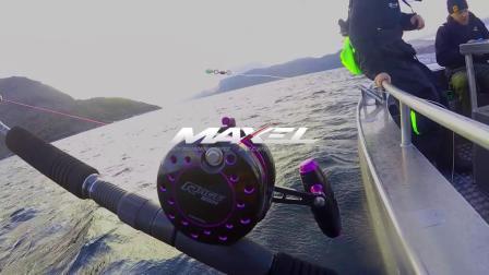 挪威活饵钓巨型比目鱼,最后放生的那一刻真美