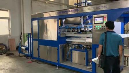 塑料包装设备一次性泡盒包装生产机器高速真空吸塑机