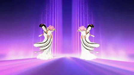 舞动新时代文明益阳人第二届优秀广场舞展演扇子舞《中国梦》