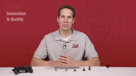 C&K - 微型指拨摇杆开关THB
