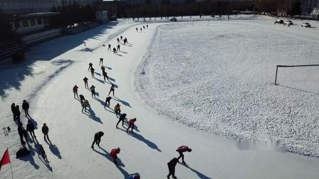 北国兴安业余速滑队风采