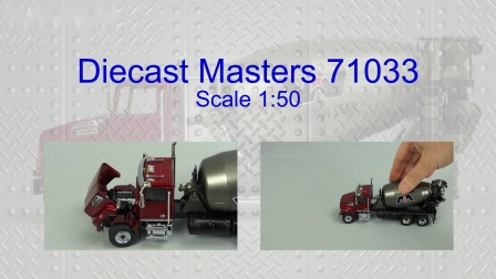 Diecast Masters Western Star 4700 SF Mixer by Cranes Etc TV