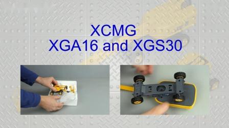 Yagao XCMG XGA 16 + XGS 30 by Cranes Etc TV
