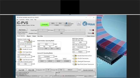 Webinar iC-PVS / iC-TW29 - 用齿轮或增量磁栅实现电池缓冲绝对式磁编码器