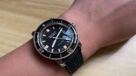 ZF宝珀五十㖊5008B梭子鱼 40MM小手腕的潜水表