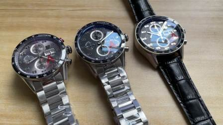 V6豪雅卡莱拉计时腕表