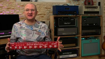 Carl Martin Octaswitch The Strip 卡尔马丁 吉他贝斯 单块效果器控制踏板