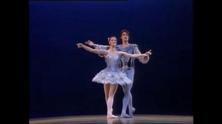 巴兰钦版《西尔维娅》大双人舞-Martine Van Hamel and Patrick Bissell-ABT-1984