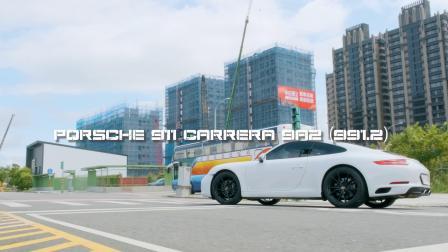 Porsche 911 Carrera type 991.2/ Stone Eddy Catted Downpipe