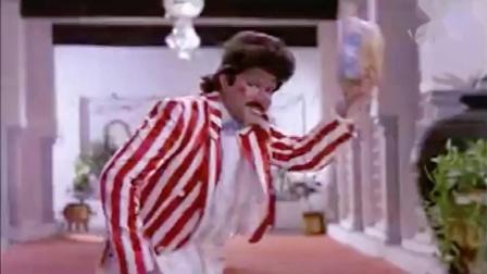 宝莱坞90年代初电影《凯珊和甘海亚》男星 Anil Kapoor 趣味歌舞插曲 Suit Boot Mein