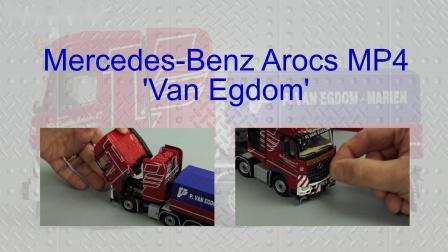 WSI Arocs MP4 'Van Egdom' by Cranes Etc TV