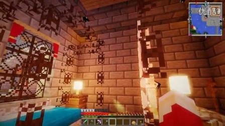 艾暮米月【奇迹小镇】四季风多模组生存33 脆弱的姜饼人卫士 Minecraft我的世界