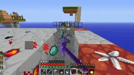我的世界 小朋友EX的空岛生存 第二集 挖空矿石岛