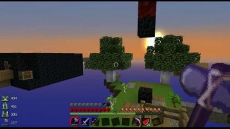 我的世界 小朋友EX的你做地图我来玩系列——空岛生存4
