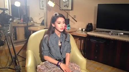Angelababy搭戏黄晓明 首演女警大赞过瘾