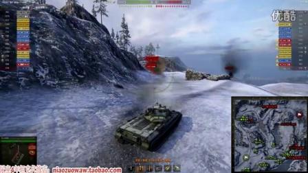 坦克世界尿座解说 丛林单排手提包晋级攻略