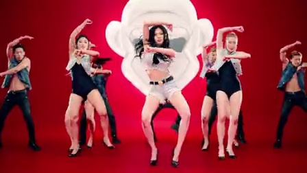 [杨晃]完整版 韩国性感新女神金泫雅HYUNA最新单曲 빨개요 RED