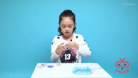冰雪奇缘舞会串珠手链DIY, 快来帮艾莎女王和安娜公主制作首饰吧!