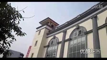 【拍客】四川贫困地区车站型似白宫
