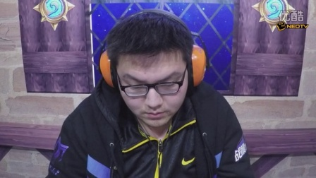 2016炉石传说黄金超级联赛春季赛  0329 小组赛G组 YM爱陈潇 vs VGxiaotian 1