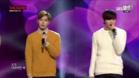 [高清现场]140114 SBSMTV The Show All About Kpop VIXX-Someday