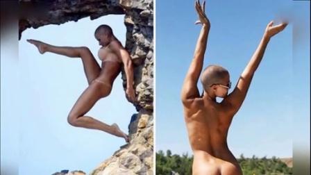俄罗斯女瑜伽师裸身训练爆红网络 151214