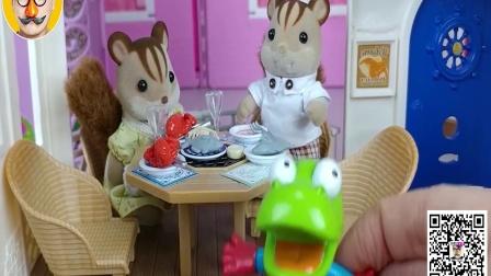小猪佩奇和森林家族 奥特曼熊出没玩具 焦虑先生
